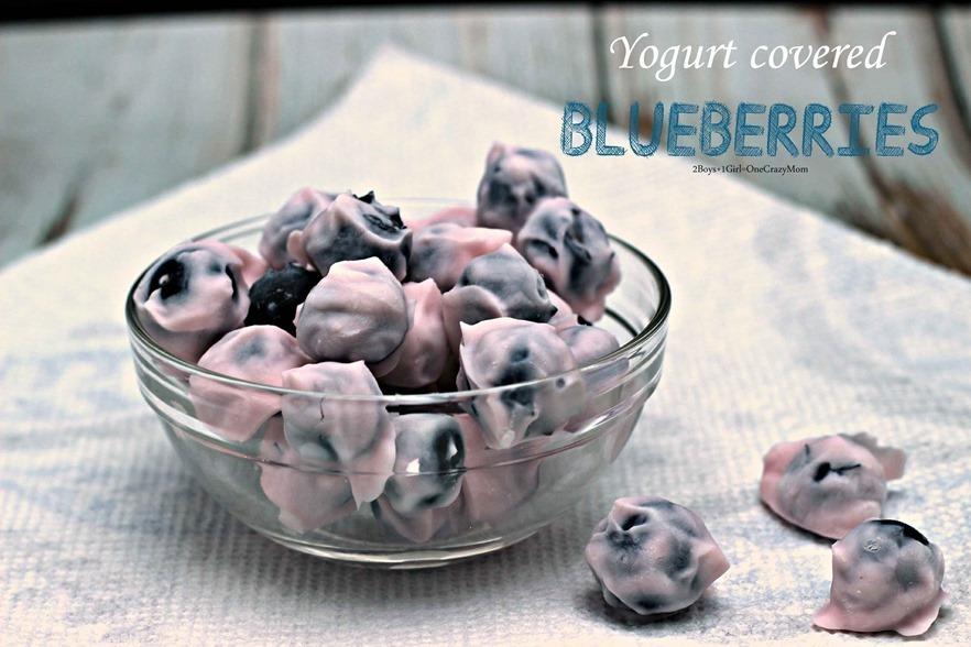 dish up a simple Yogurt Blueberry Snack #Recipe