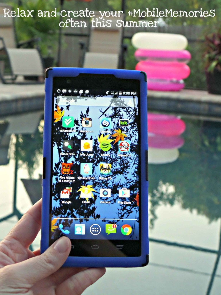 relax and create your #MobileMemories often this summer #ad