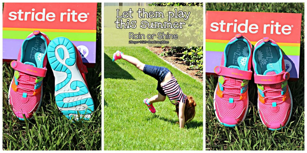 we love to have fun with Stride Rite