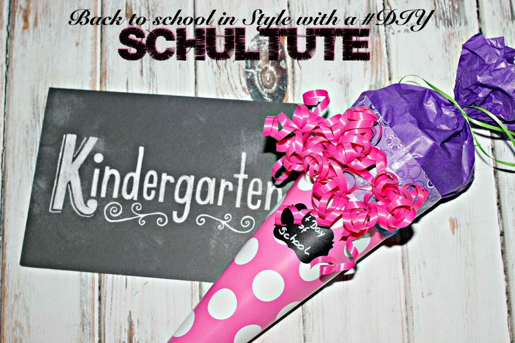 Back to school in style with a #DIY schultute #CreativeHop
