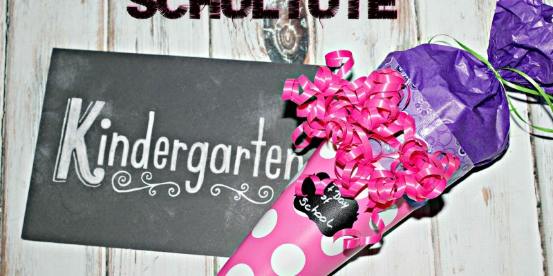 Surprise your little one with a #DIY Schultute for back to school #CreativeHop