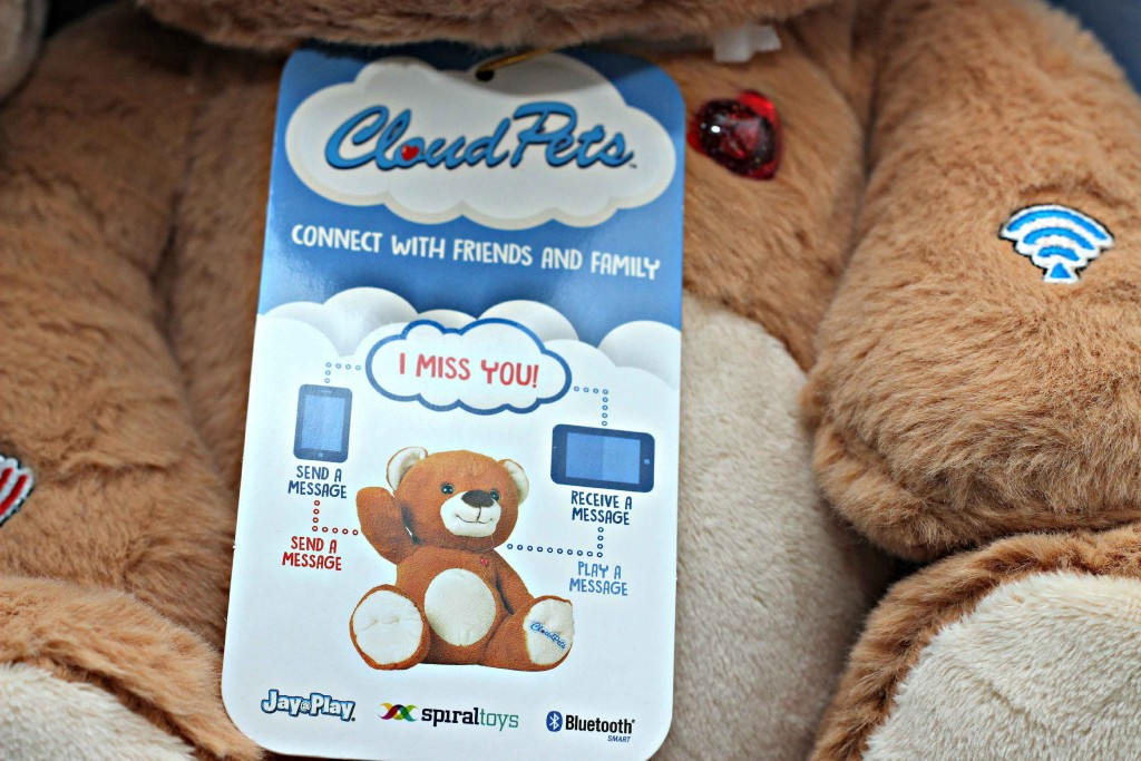 Keep your family and friends close by with #CloudPetsForever