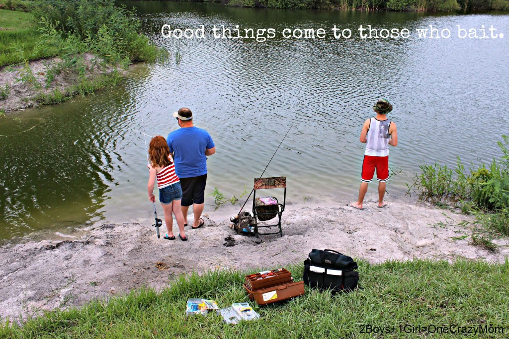 Create memories with your kids when #FishingForMemories