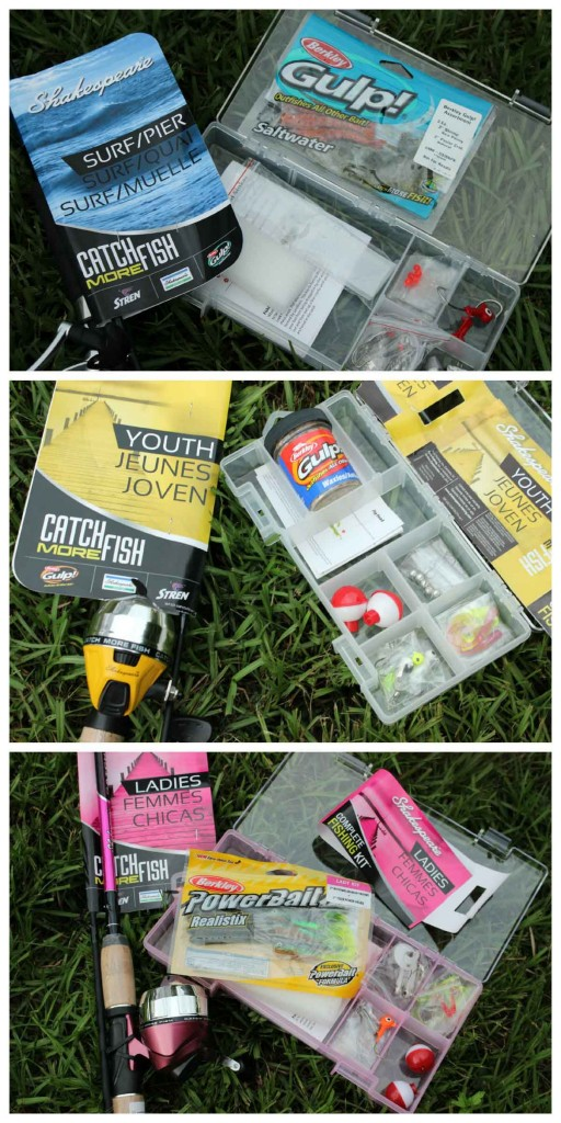 Fishing gear in one easy step, entire kit and ready to fish in no time