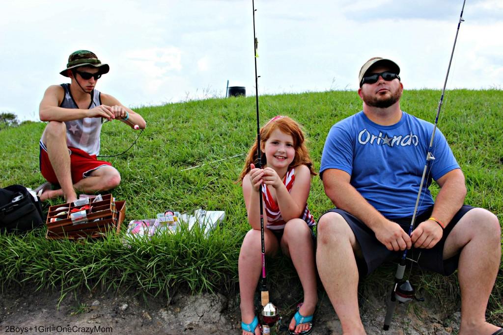Fishing is always a lot of fun