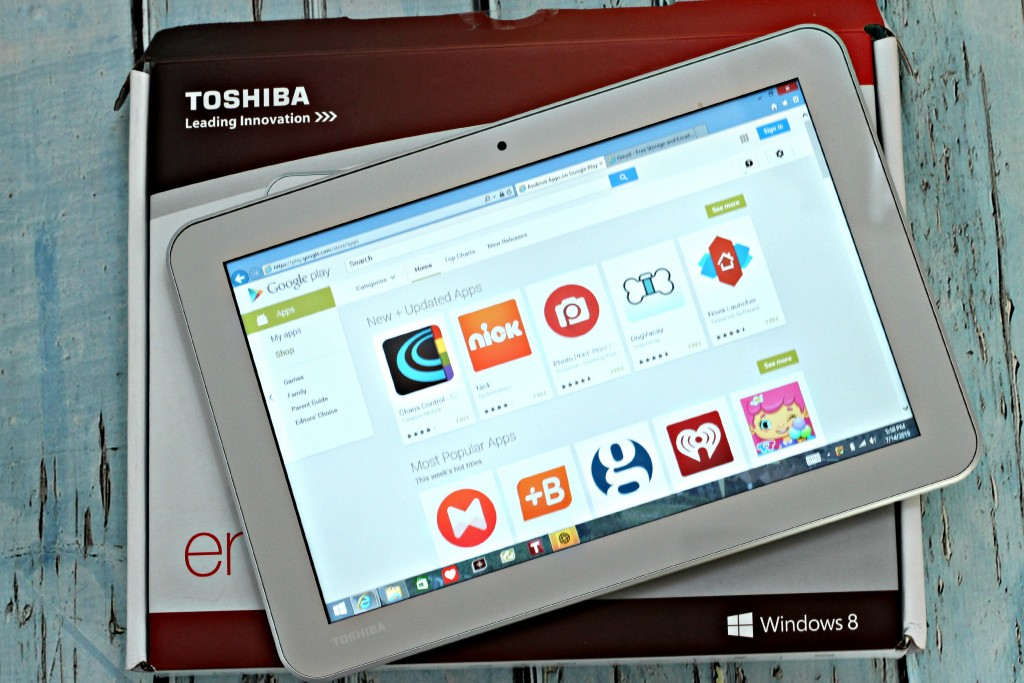 Great apps for the entire family on your #IntelTablets