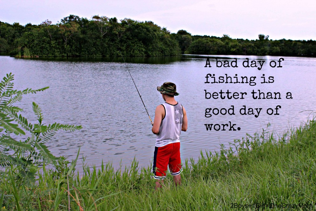 Love fishing anytime of the day