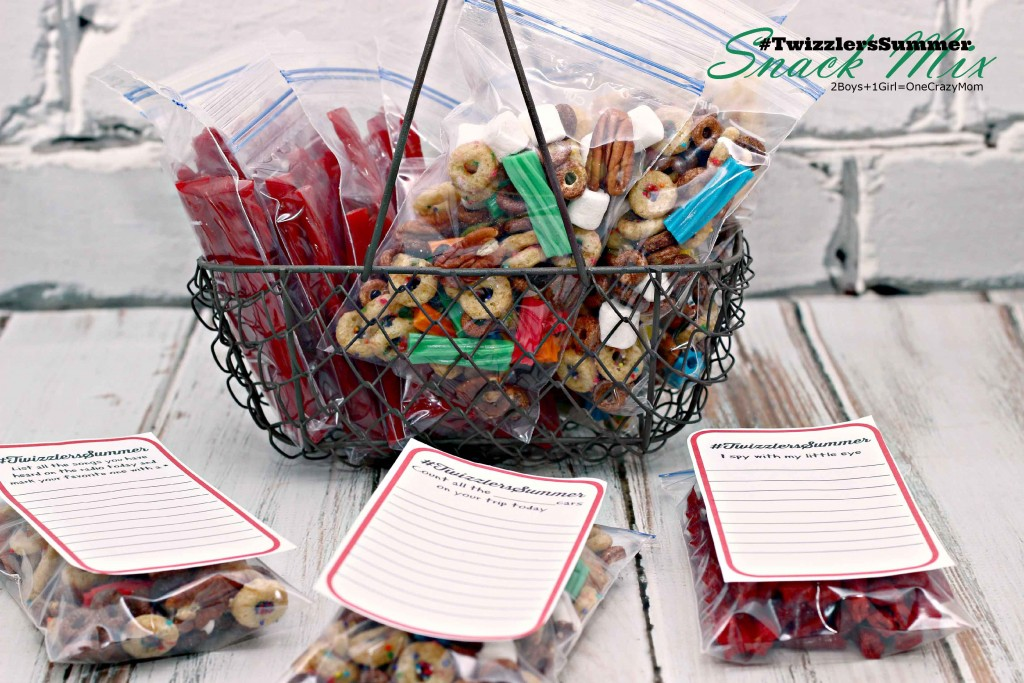 add your #TwizzlersSummer snack mix to a basket for easy take alongs copy