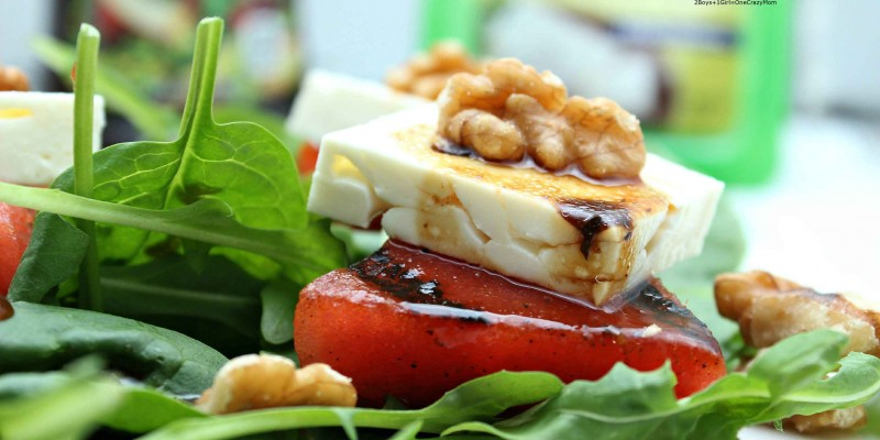 Dish up a Watermelon and Feta Summer Salad #FireUpTheGrill