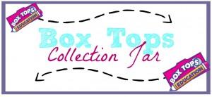 Box Tops Collection Jar Printable