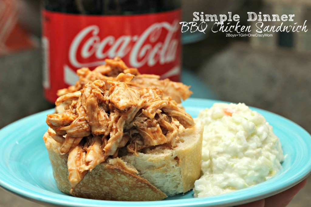 Dish up Dinner in no time with  #EffortlessMeals  and my BBQ Chicken Sandwich #Recipe