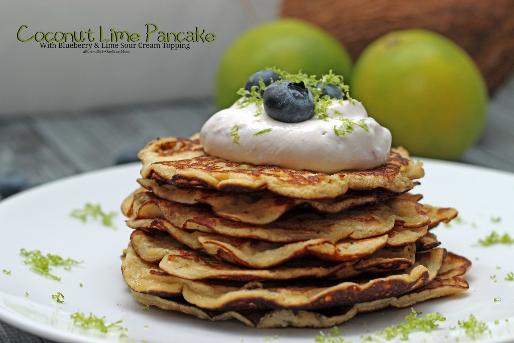 Dish up a simple and healthy breakfast coconut pancakes #Recipe