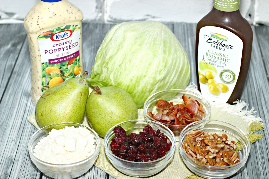 Fall Chopped Salad #Recipe #CreativeHop
