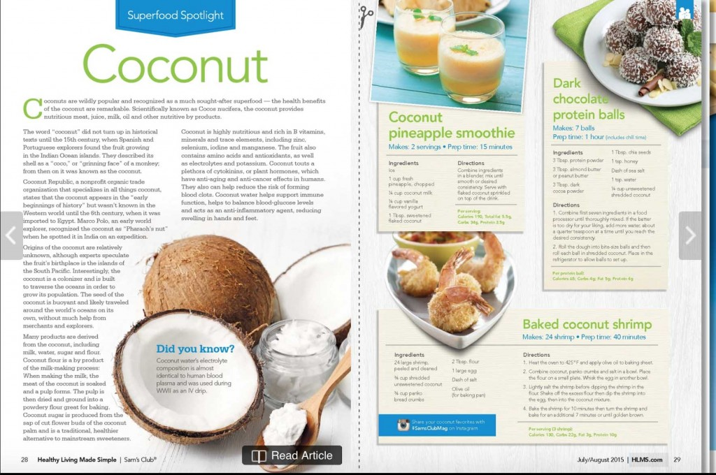 HealthyLiving Coconut