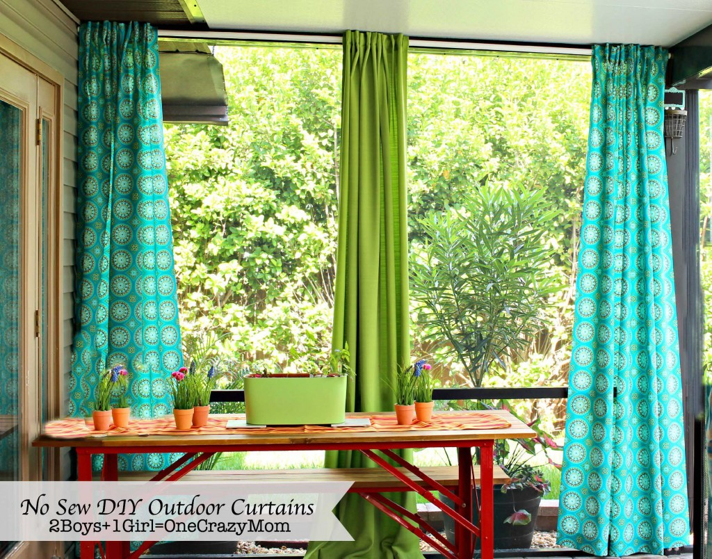 No Sew #DIY Outdoor Curtains  _edited-1
