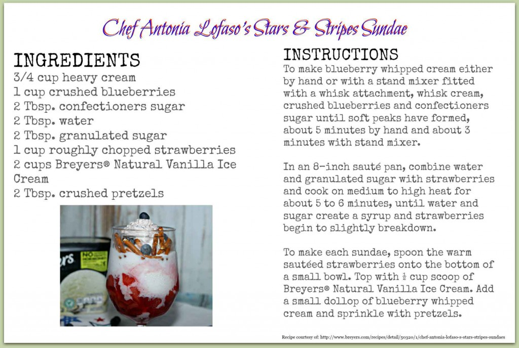 #RecipeCard Ice Cream Sundae