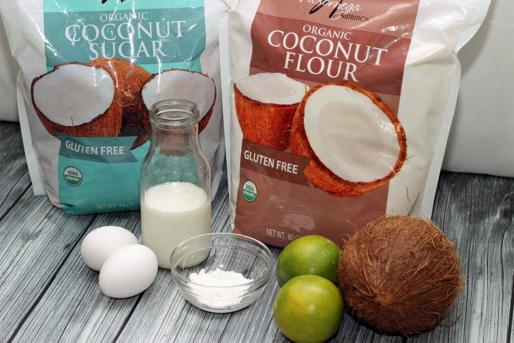 This is what you need for the Coconut Lime Pancakes #Recipe
