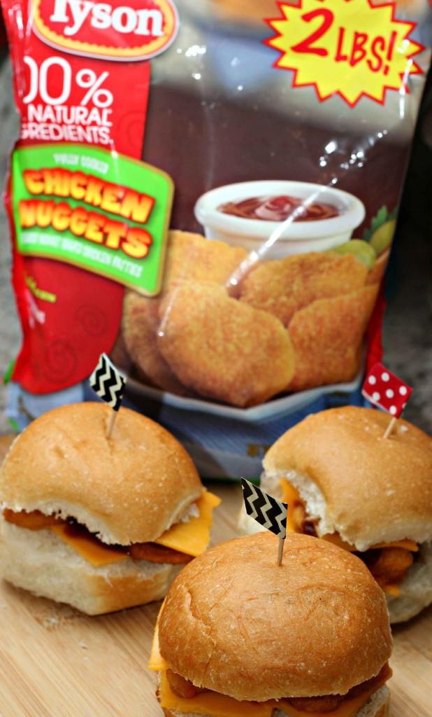 #TysonProjectAPlus chicken burgers