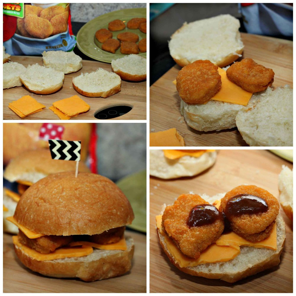 #TysonProjectAPlus chicken burgers are so simple
