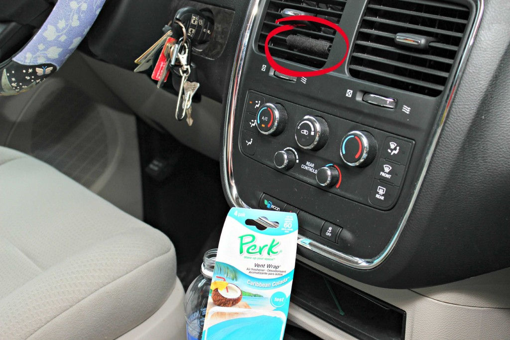 we love the smell #PERKFRESH anytime we go into the car