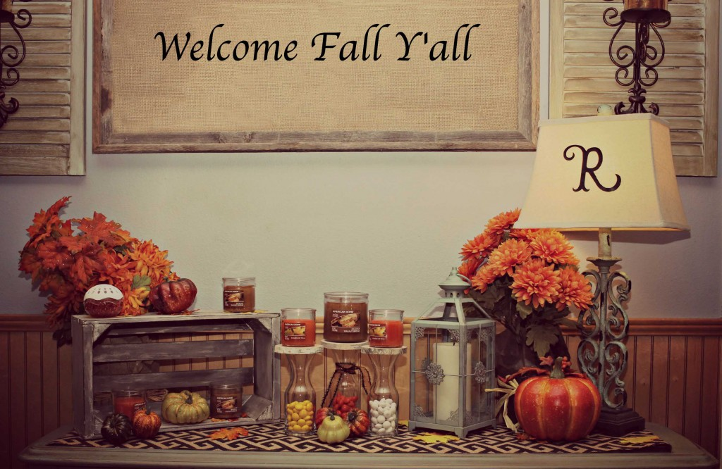 Fall Decor can be so easy #LoveAmericanHome