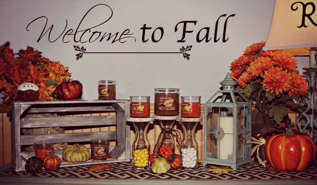 Fall decor can be so fun and simple I #LoveAmericanHome