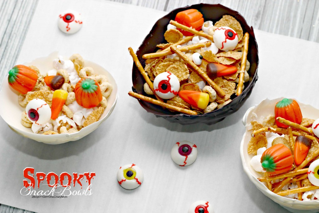 Make your own Spooky Snack Bowls