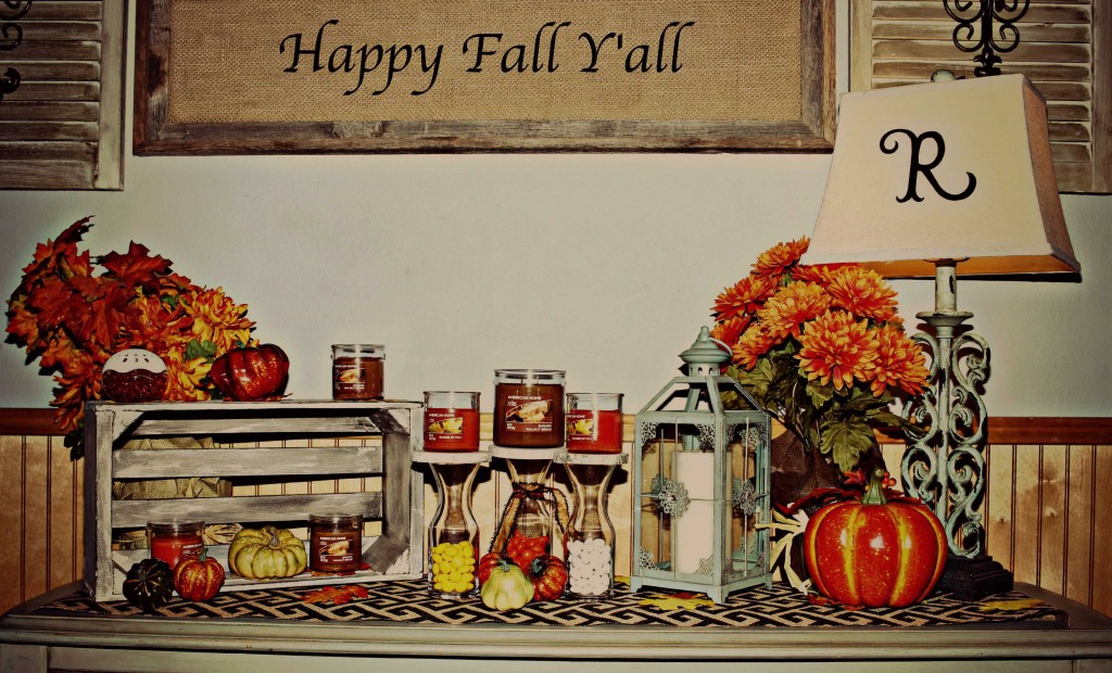 Welcome Fall and decorate in style #LoveAmericanHome