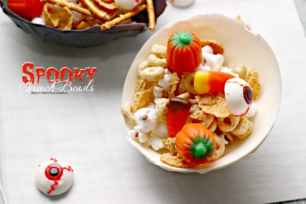 so much fun to make your own spooky snack bowls  #CreativeHope #Recipe