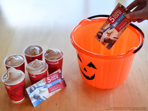 Trick or Treat with a treat that will keep giving in more ways than one