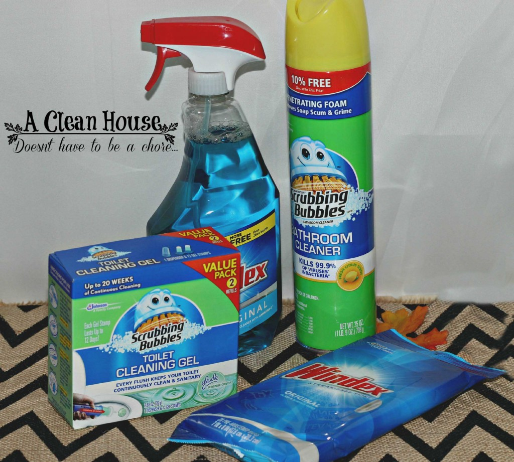 A Clean House doesn't have to be a chore