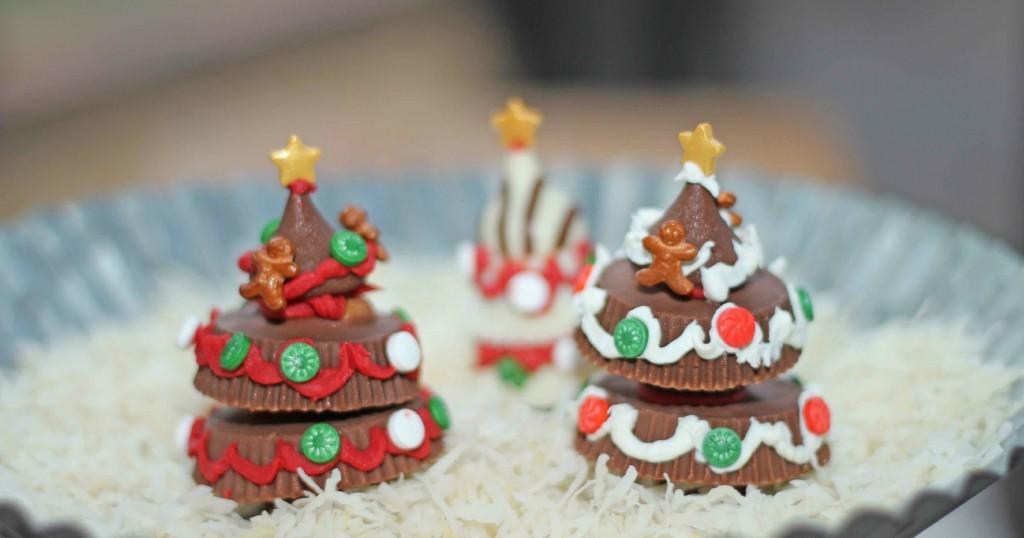 Chocolate Christmas Tree Gift Idea
