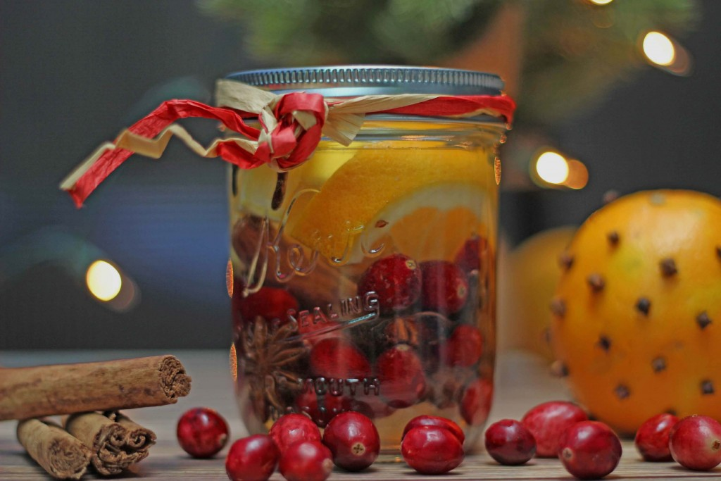 Christmas in a Mason Jar