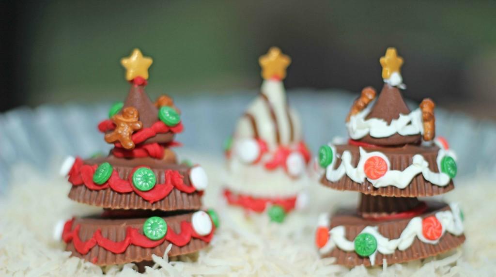 Create your own Chocolate Christmas Tree