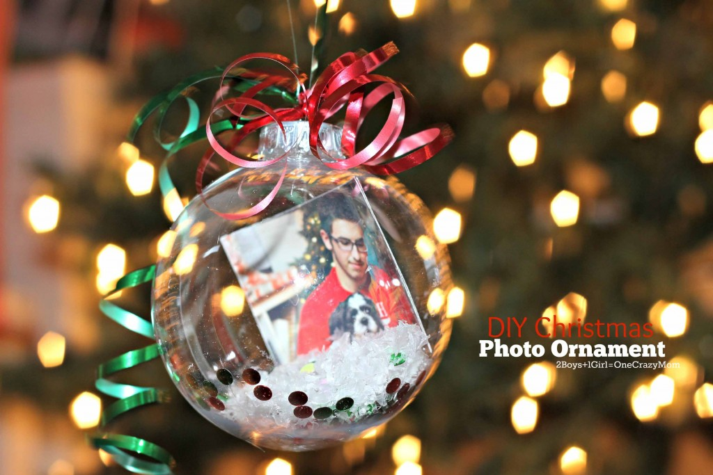 DIY Christmas Photo Ornaments are the perfect Gift idea - 2 Boys + 1 ...