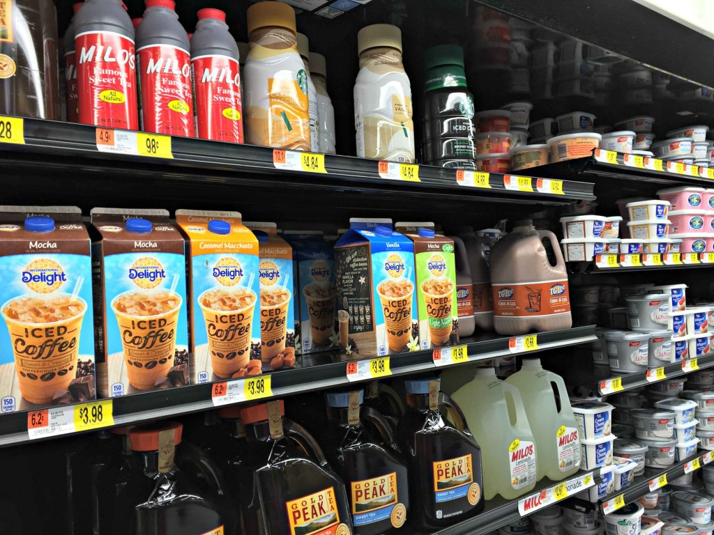 Find your Iced Coffee ID in the refrigerator section #FoundMyDelight