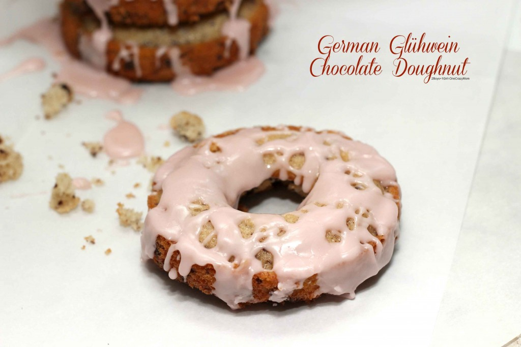 Dish up my german glhwein chocolate doughnuts this holiday season make these simple german glhwein chocolate doughnuts recipe today forumfinder Gallery