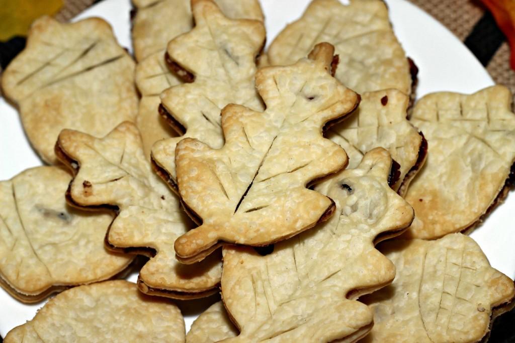 Pie Crust Fall Cookies #HappyThanksGathering