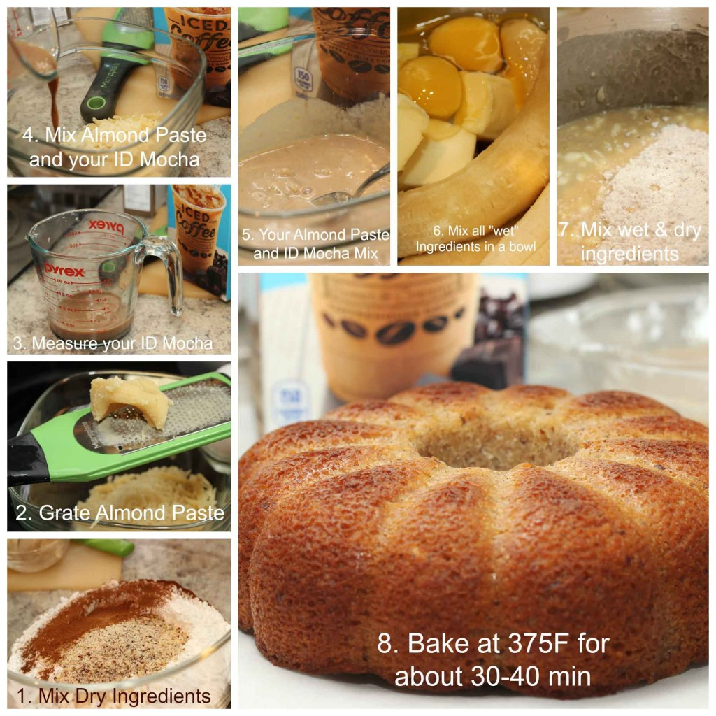 This is how to make your German Banana Nut Delight cake #FoundMyDelight