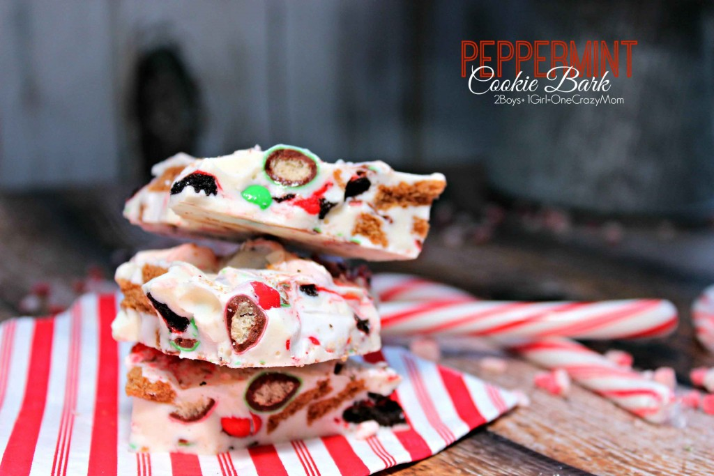 Get your home ready for the holidays and enjoy a quick Peppermint Cookie Bark