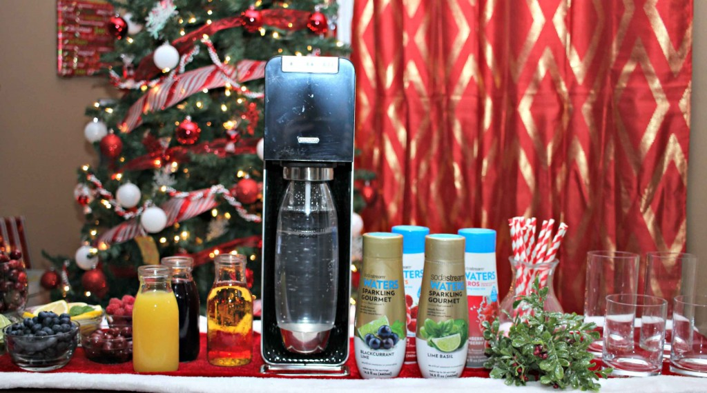 Christmas Soda Party for all your guests #WaterMadeExciting