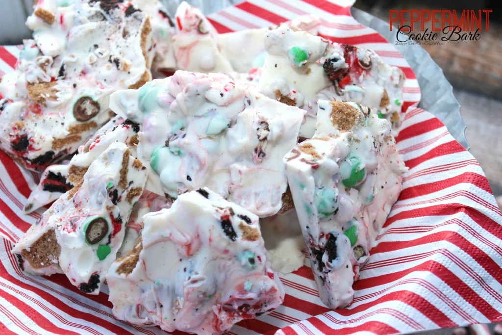 Peppermint Christmas Bark #Recipe