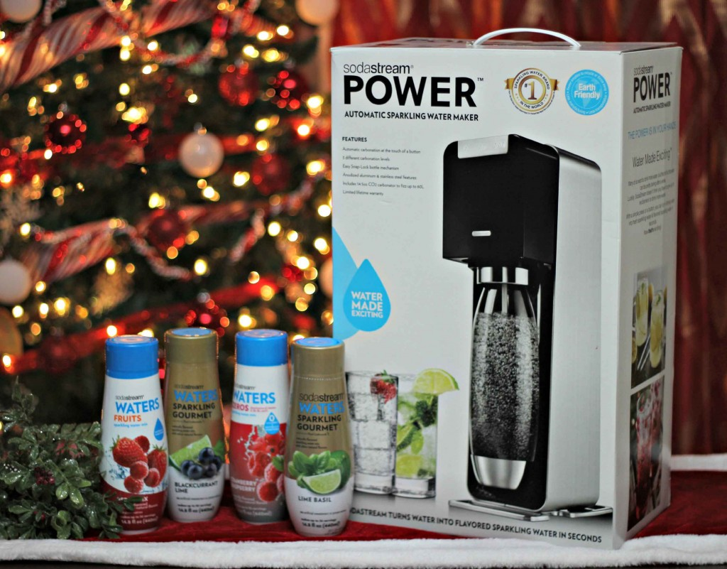 Sodastream is a perfect christmas gift #WaterMadeExciting
