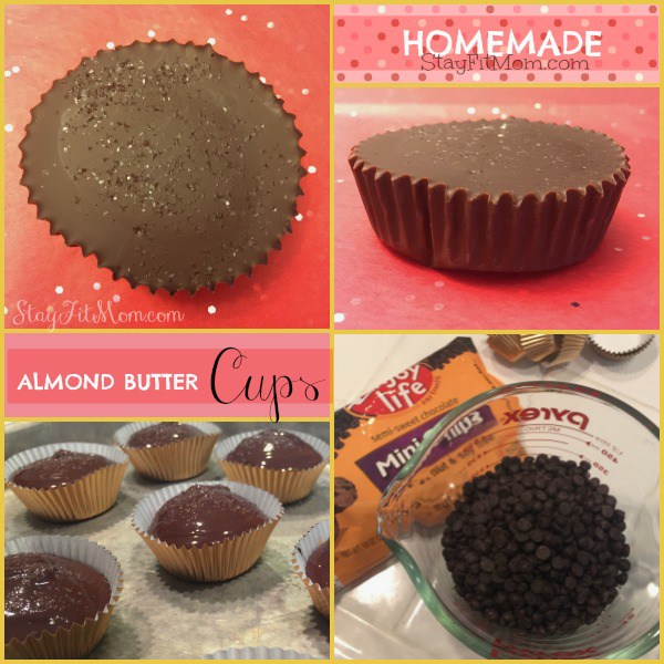 Almond Butter Cups - Stay Fit Mom