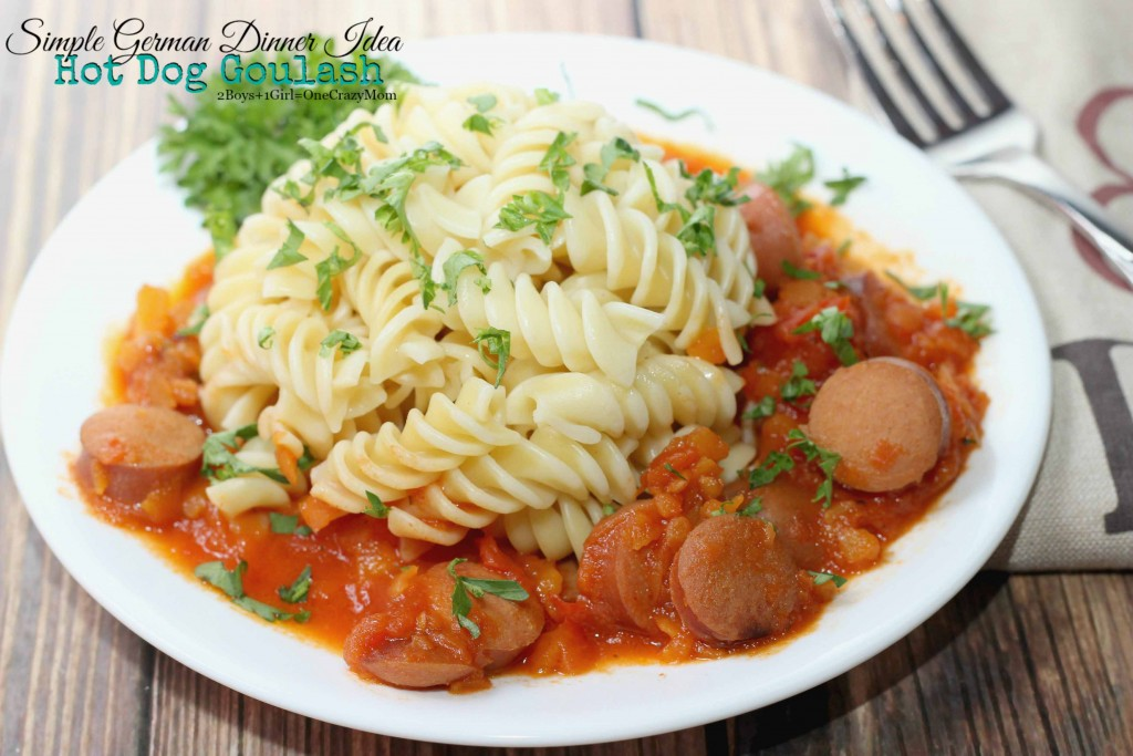 German Hot Dog Goulash #Recipe idea