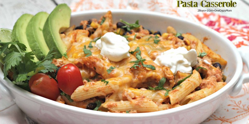 Mexican Chicken Casserole perfect in so many ways #Recipe