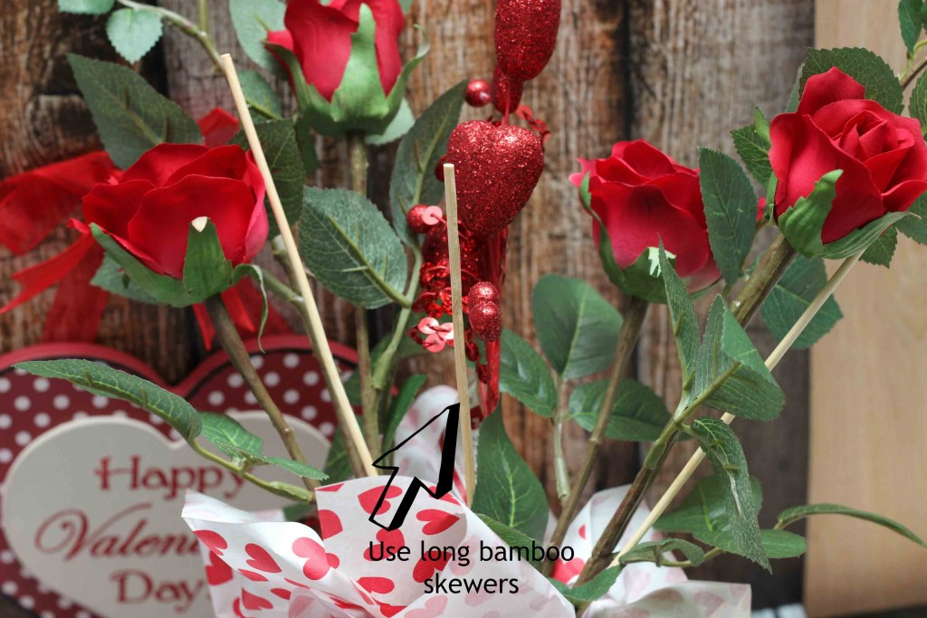 bamboo skewers are perfect for your Valentine DIY Gift