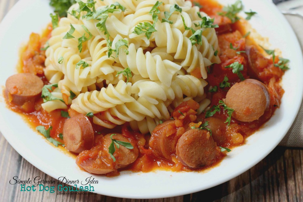 create a simple #Recipe anyday of the night with the Bellini Kitchen Machine Hot Dog Goulash