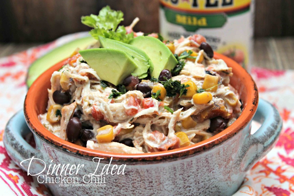 Chicken Chili Dinner Idea #YesYouCAN