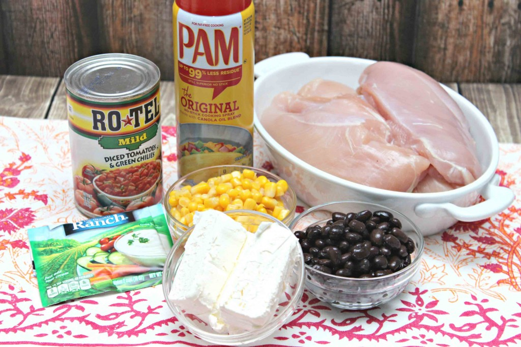 Ingredients for RoTel Chicken Chili #Recipe